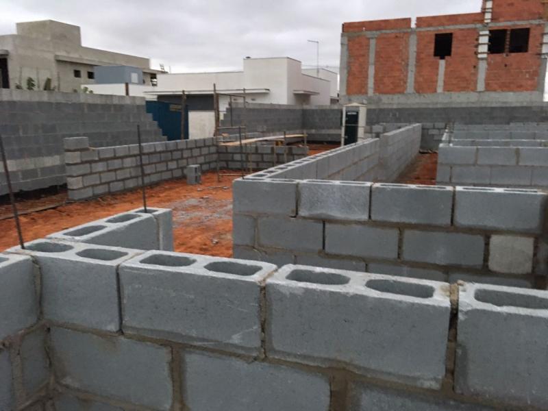 Bloco de Concreto 14x19x39 Nova Odessa - Bloco Canaleta de Concreto