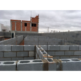 bloco alvenaria estrutural preço Marília