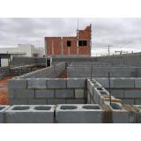 bloco de concreto canaleta orçamento Mogi Guaçu