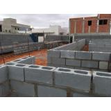bloco de concreto canaleta Osvaldo Cruz