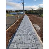 bloco de concreto para calçada Peruíbe