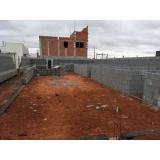 bloco de vedação de concreto cotar Paiol Grande