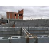 bloco semi estrutural preço Vila Élvio