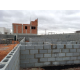 blocos canaletas de concreto Valinhos