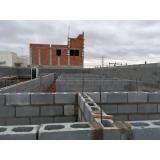 bloco de concreto de vedação