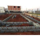 blocos estrutural concreto Osvaldo Cruz