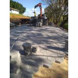 bloquete de concreto sextavado Itupeva
