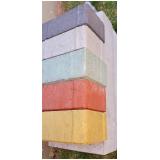 bloquete de concreto tipo intertravado Osvaldo Cruz