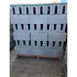 canaleta de concreto 14x19x39 Mairinque