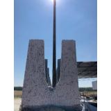 canaleta de concreto meia cana