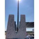 canaletas de concreto para baldrame Paulínia