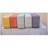 comprar bloquete intertravado colorido Batatuba