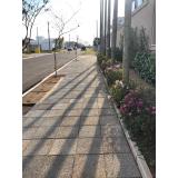 cotação de piso drenante para jardim São Carlos
