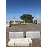 guia moldada de concreto preço Marília