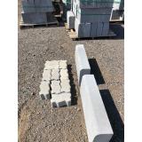 guia moldada de concreto Franca