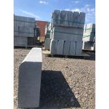 guia pré moldada de concreto preço Valinhos