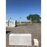 guia pré moldada de concreto Itanhaém