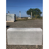 guias moldada de concreto Mendonça
