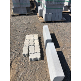 guia moldada de concreto