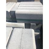 guia pré moldada concreto
