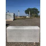guia pré moldada de concreto