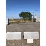 guias sarjeta pré moldada com concreto Marília