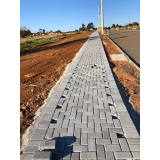 lajota de cimento para calçada preço Araçatuba