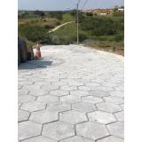 lajota de concreto para jardim Hortolândia