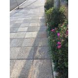 piso drenante de concreto Marapoama