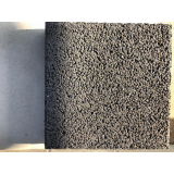 placa de concreto cotação Alumínio