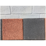 placa de concreto drenante Embu