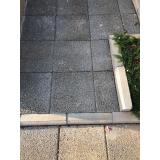 placas de concreto pré moldado Jardim Mirante