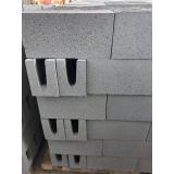 preço de canaleta de concreto 9x19x39 Itu