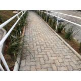 qual o valor de lajota de concreto para jardim Apiaí