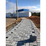 quanto custa lajota de concreto para calçada Araras