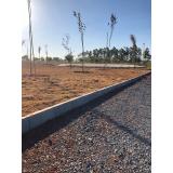 venda de guia pré fabricada de concreto Santa Bárbara d Oeste